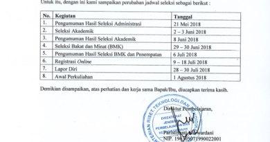 Jadwal Pelaksanaan Seleksi PPG Prajabatan Bersubsidi 2018, TERBARU