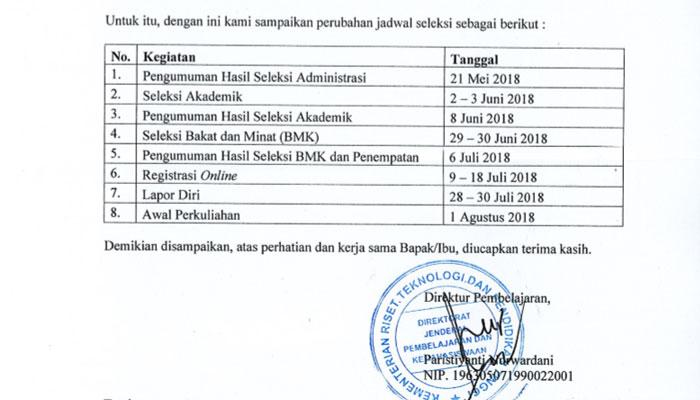 Jadwal Seleksi PPG Prajabatan Bersubsidi Tahun 2018
