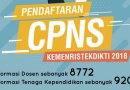 Pendaftaran CPNS Ristekdikti 2018 dan Lolos Seleksi
