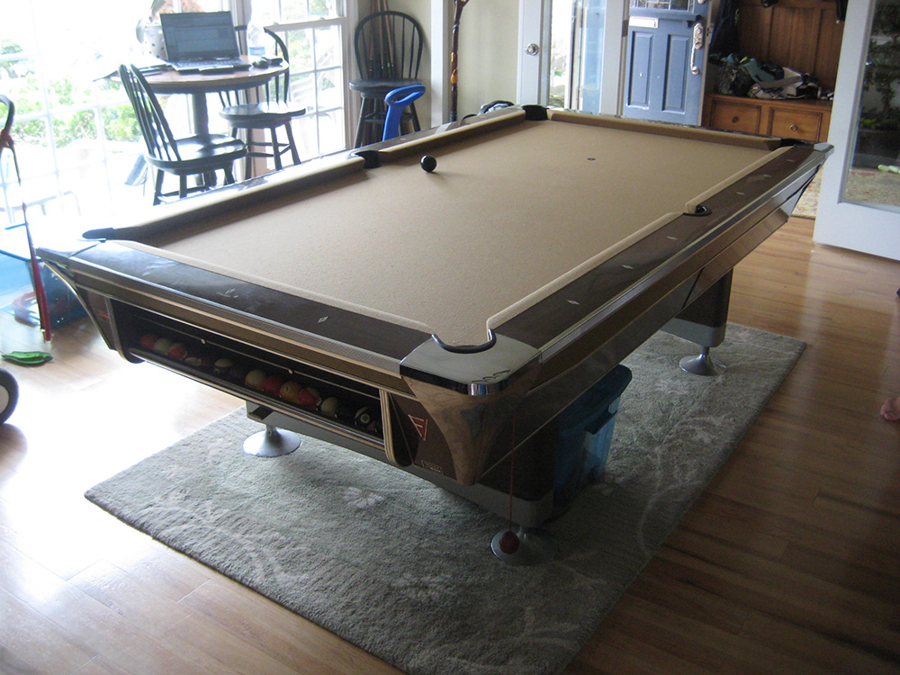 Blast From The Past Retro Pool Table Pool Table Service Billiard - Retro pool table