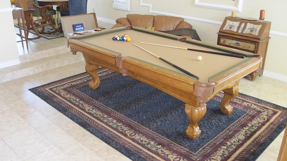Classic oak beauty dk billiards service orange county ca for Oak beauty pool table