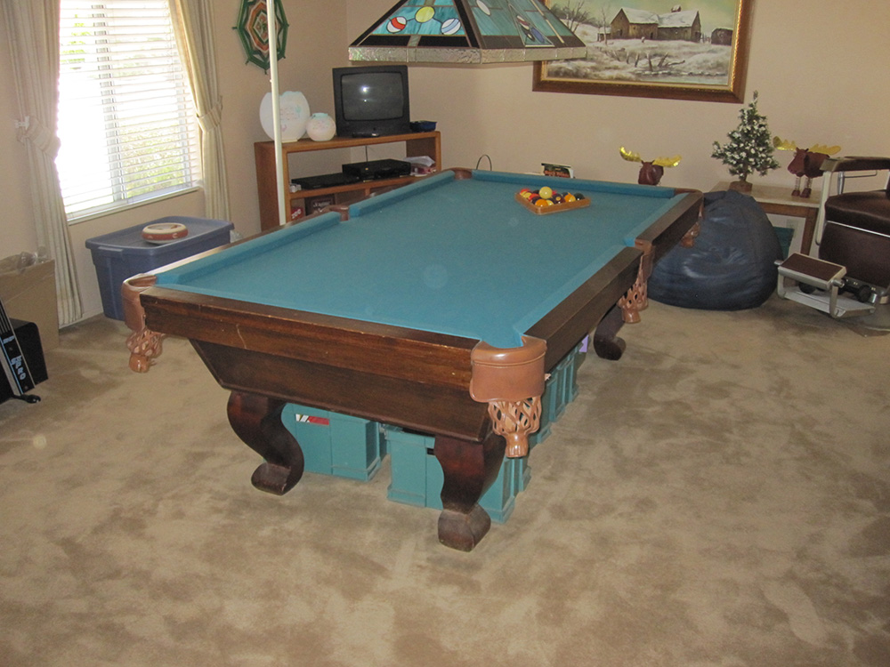 New Pockets Old Table | DK Billiards Pool Table Movers ...
