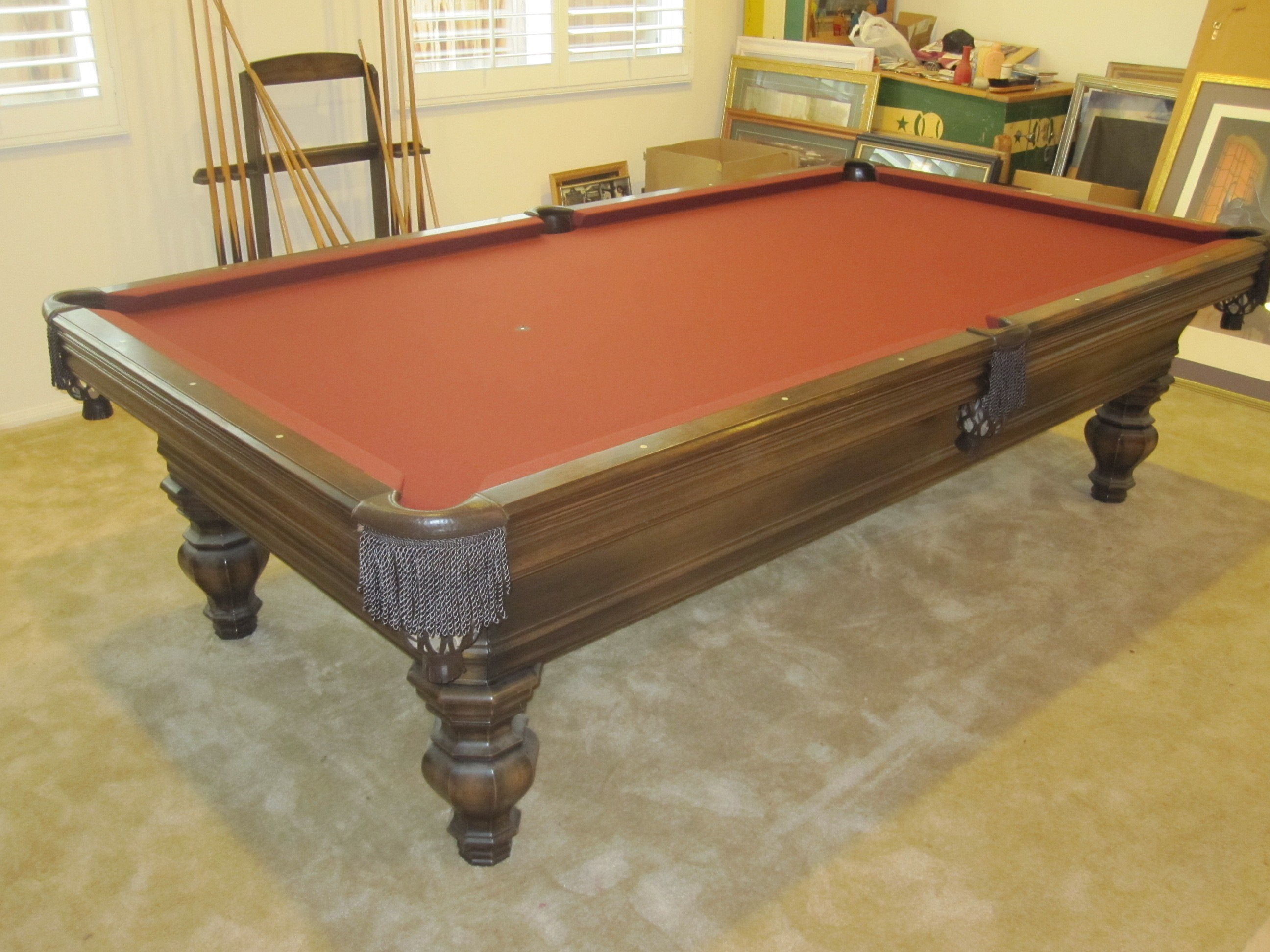 Incroyable ... Amazing Do Pool Tables Come Apart #22   Renaissance Pool Table Re Do ...