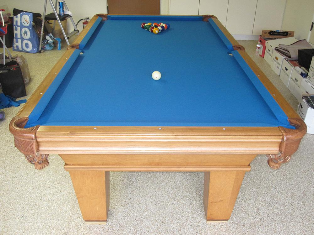 Electric Blue Billiards Pool Table Service Billiard Supply - Electric blue pool table