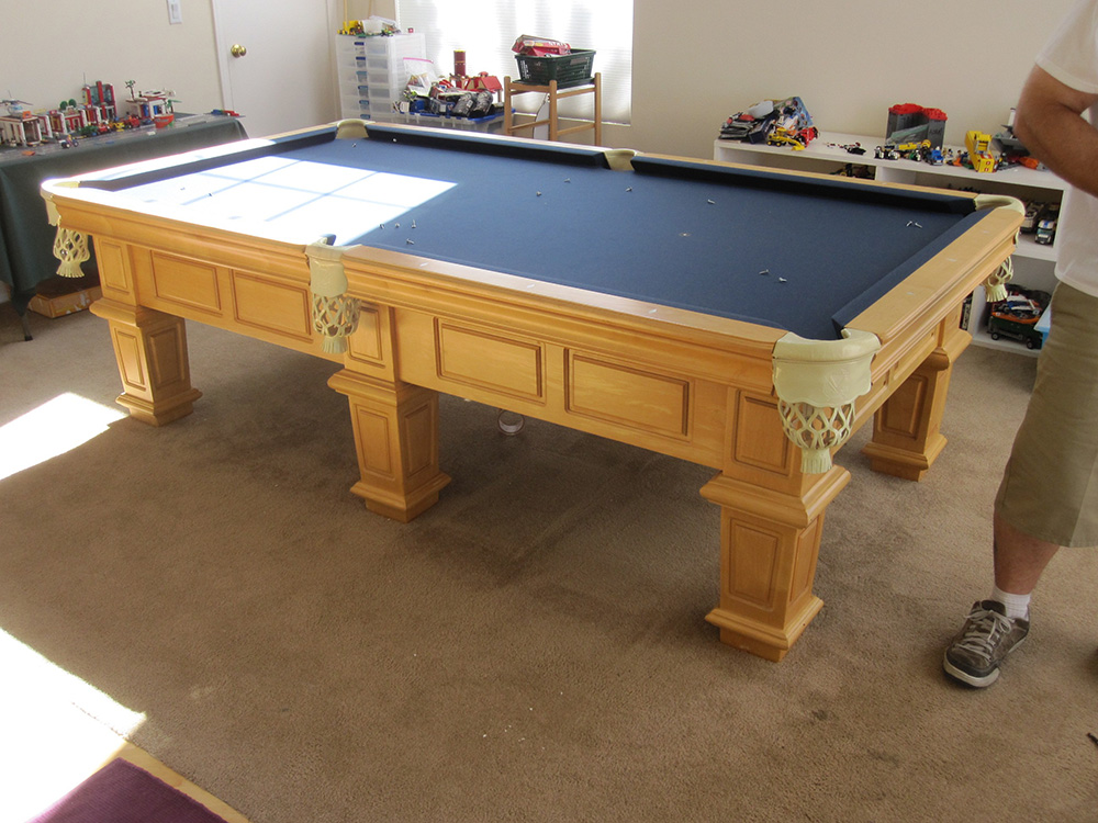 Moving A Six Legged Pool Table | DK Billiards Pool Table ...