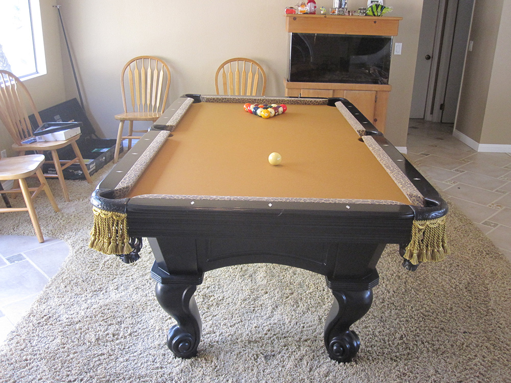 Bobcat billiard table dk billiards pool table movers for 10 in 1 pool table