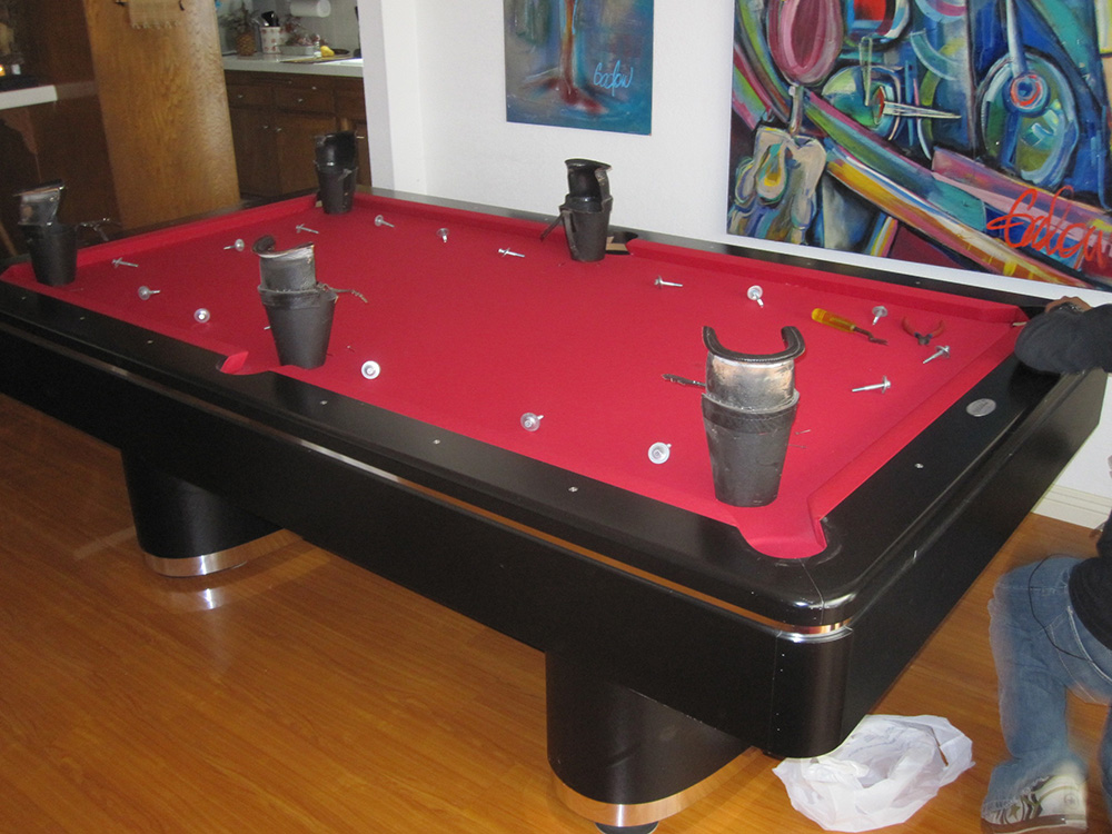 Olhausen Pool Table Makeover Dk Billiards Pool Table