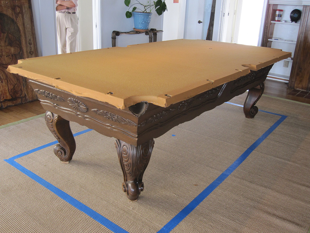 Surprise One Piece Slate Move Pool Table Service Billiard Supply - How much is it to move a pool table