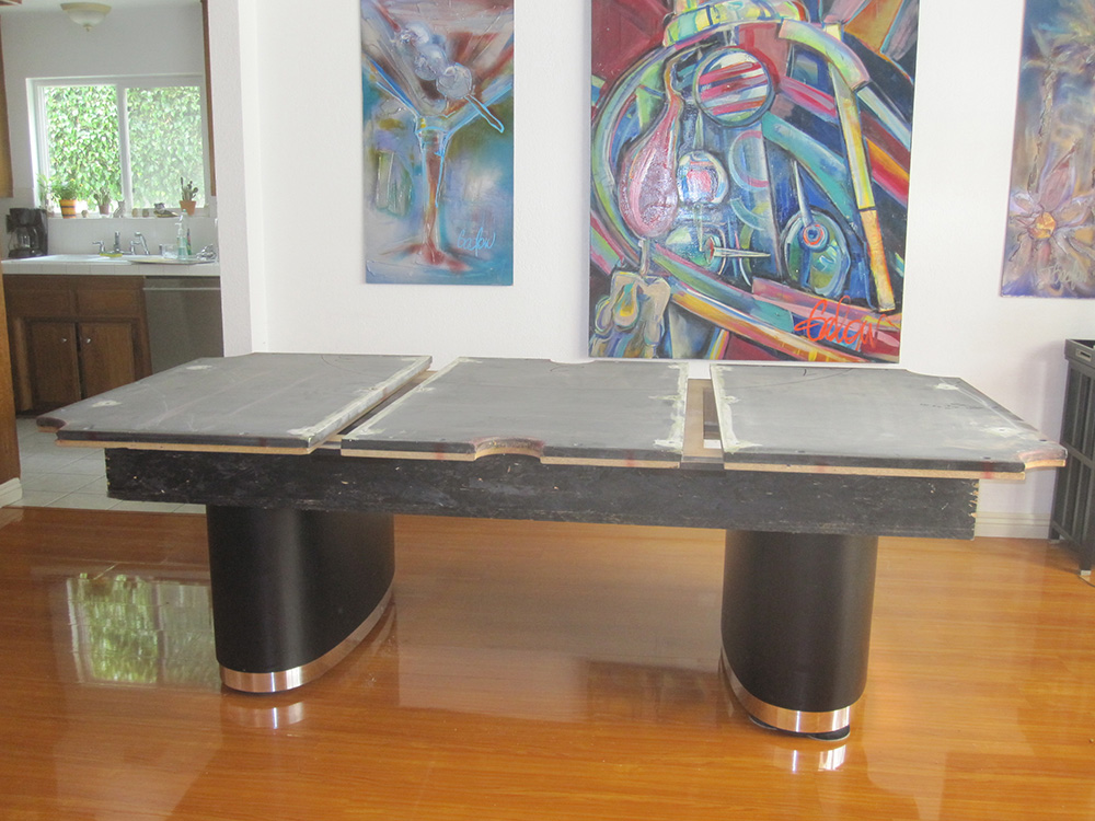Olhausen Pool Table Makeover Pool Table Service