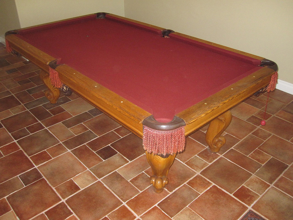 Seven Footer Moves To Temecula Pool Table Service Billiard - Pool table movers temecula