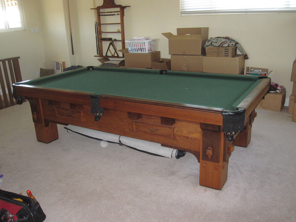 How To Get Lb Pool Table Downstairs Pool Table Service - Delmo pool table