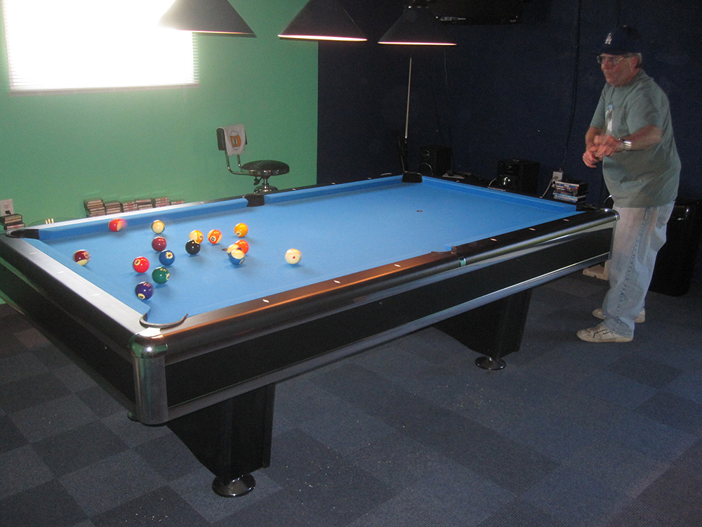 Hereu0027s A Pool Table Delivery We Did Last Week For My Client In Mission  Hills, CA. This Day Had Been Culminating For Three Months, My Client  George, ...
