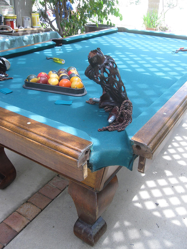 Is It Time To Replace Your Old Pockets Pool Table Service - Fullerton pool table