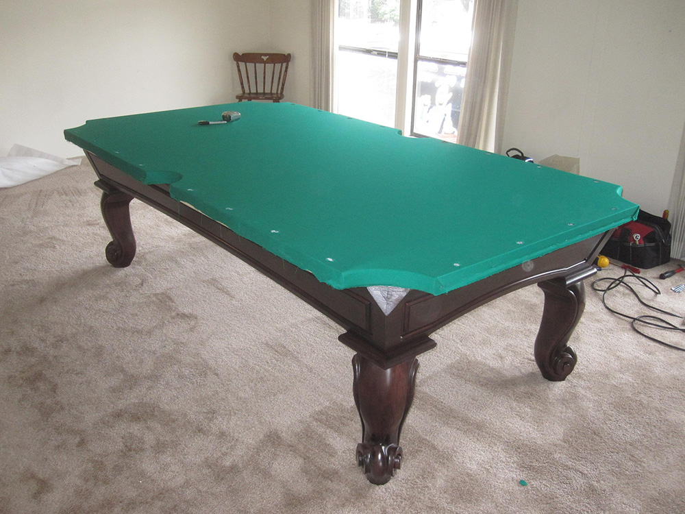 San Carlos In A Double Wide Pool Table Service Billiard - Mobile pool table