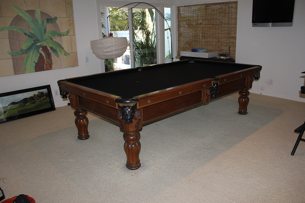 Delicieux Adler Pool Table Gets A Makeover