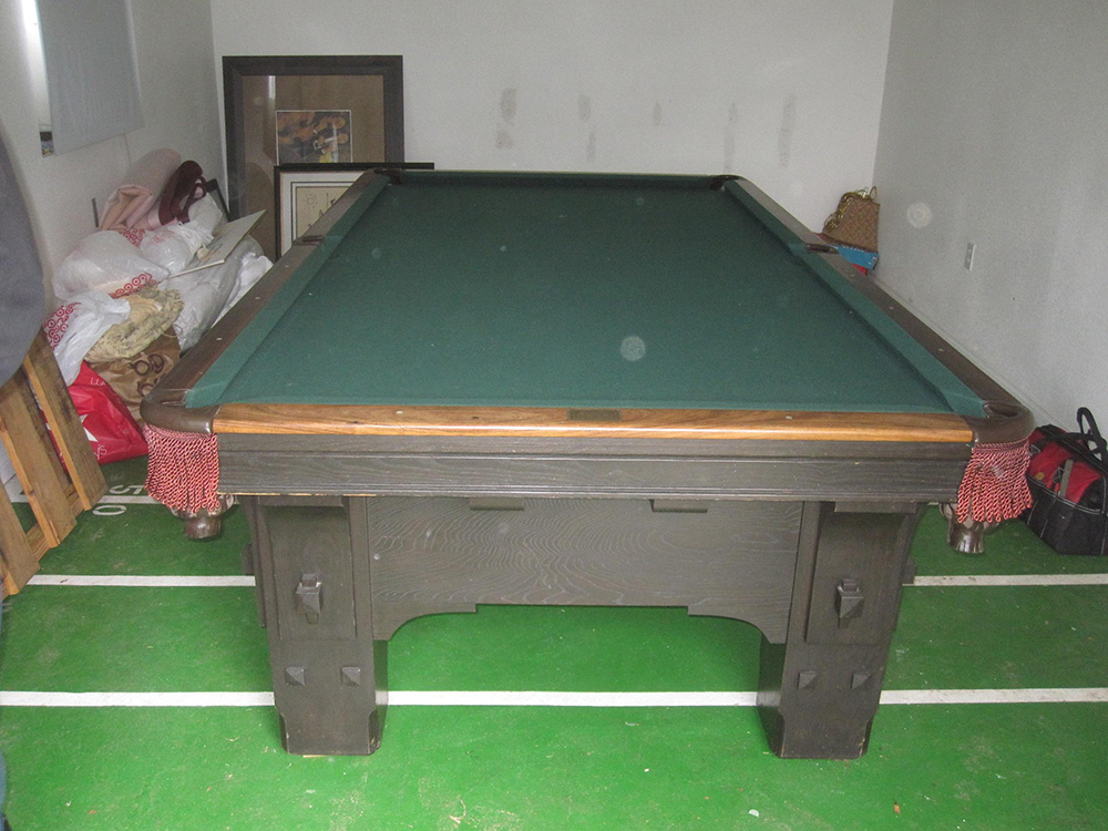 S Delta Billiard Table Vanishes Pool Table Service Billiard - Ballard pool table