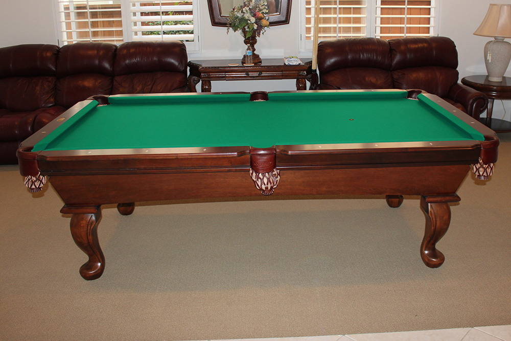 What Is A Standard Size Pool Table?