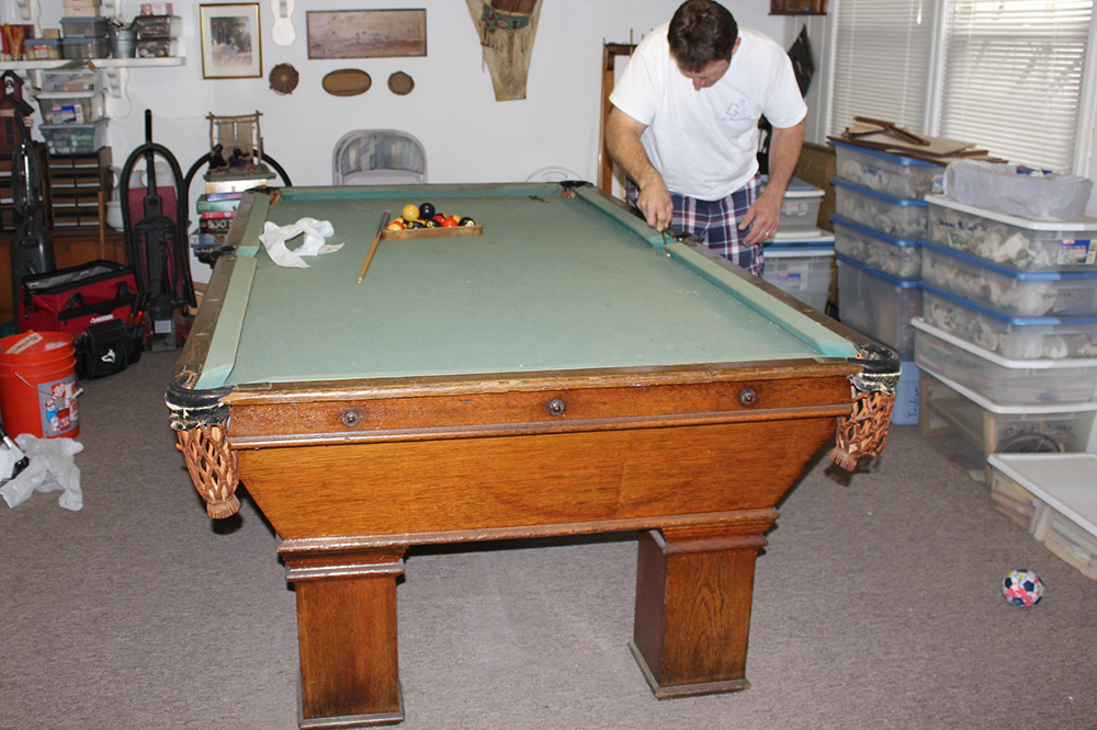 Antique Bbc Stays In The Family Dk Billiards Amp Service