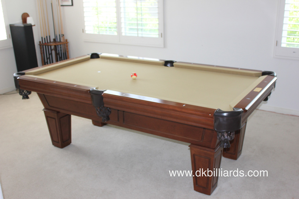 Duke Goes From Green To Golden We Were Called Upon To Do A Color Change On  A 7u2032 Duke Pool Table In Anaheim Hills, California. We Delivered And Set  This Pool ...