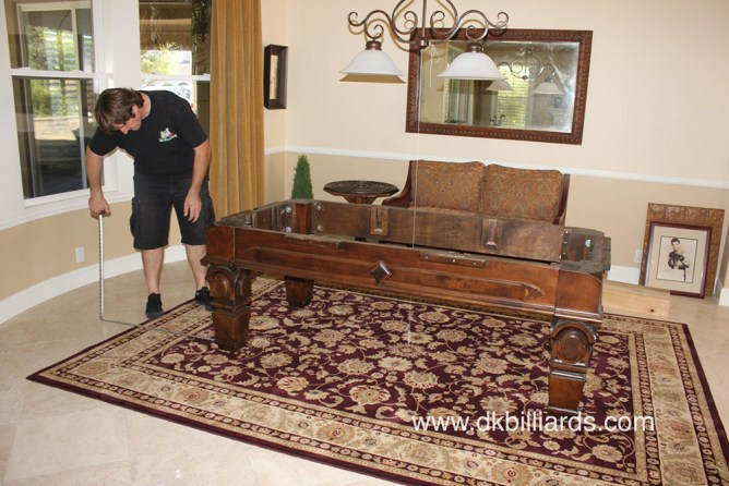 Pool Table On Area Rug Dk Billiards Pool Table Moving