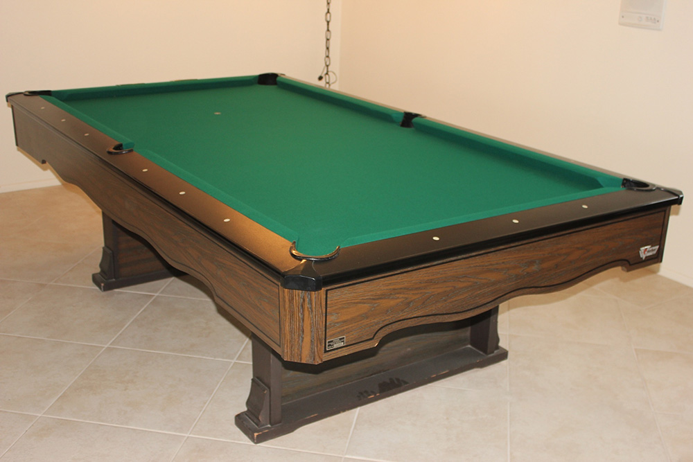 Marble Top Fischer Pool Table Pool Table Service Billiard Supply - Pool table movers corona ca