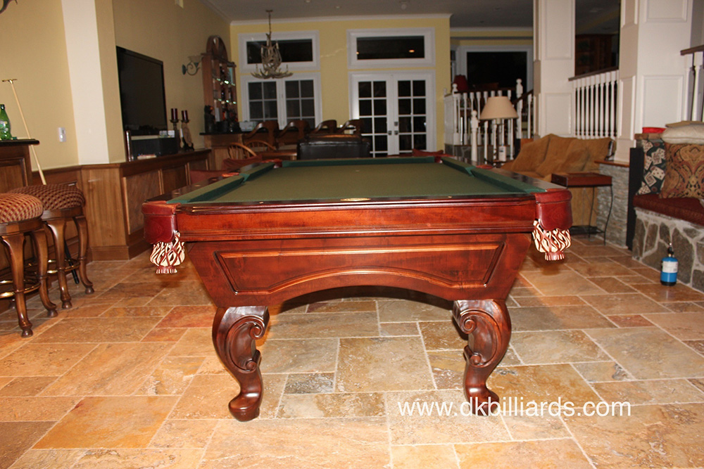 Pool Table With Dining Top And Ping Pong
