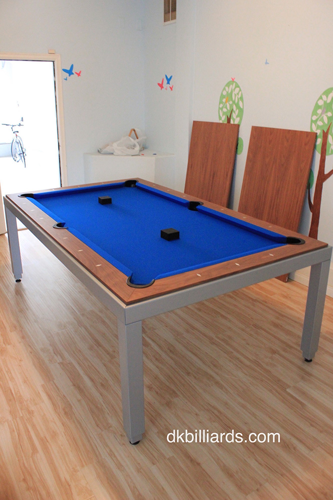 The Aramith FusionTable Is A Great Option For Folks Who Are Looking For A  Dining Table That Converts To A Pool Table. This 7u2032 Powder Coat Walnut In  San ...