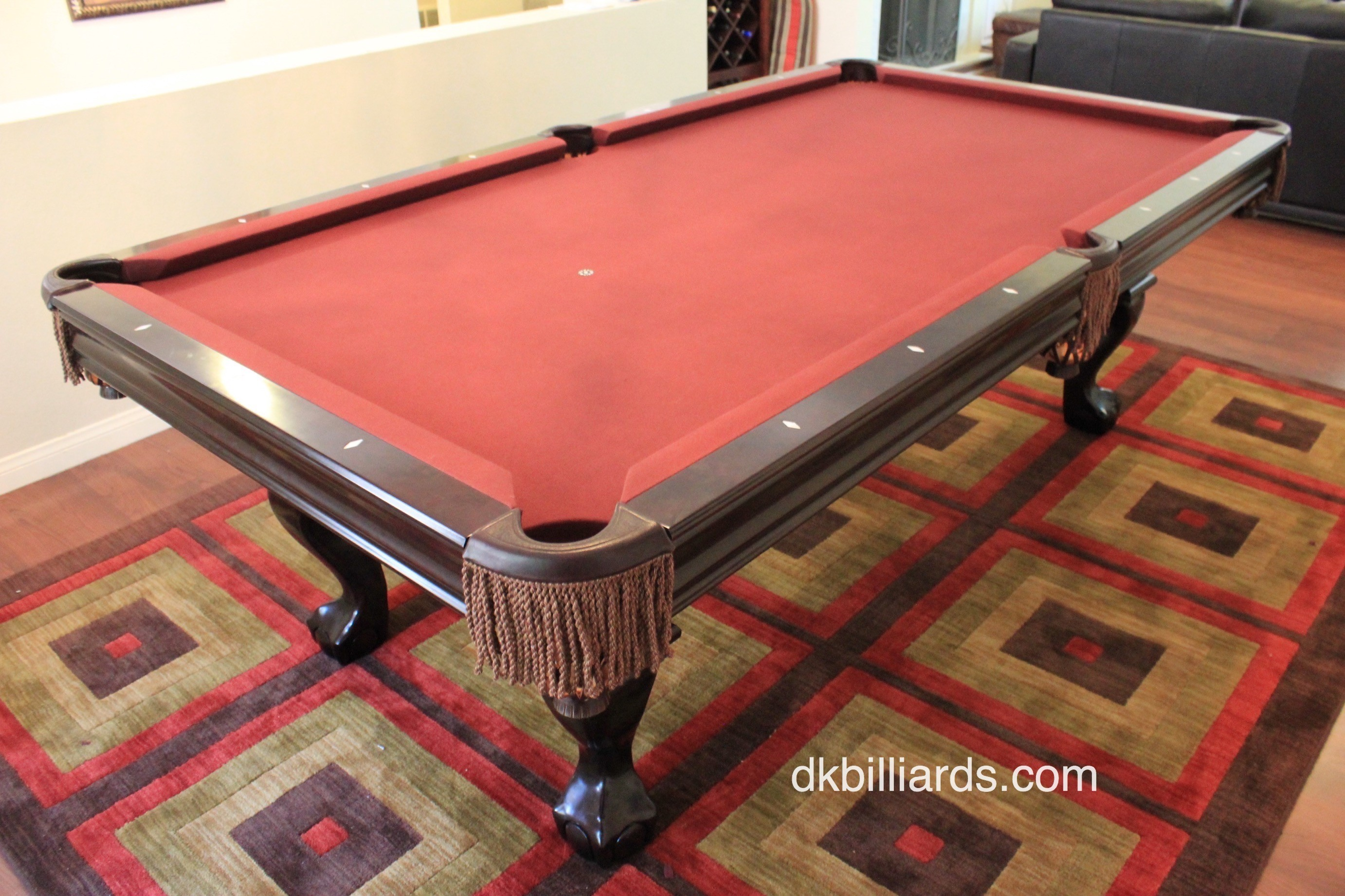 Brunswick Contender Setup Pool Table Service Billiard Supply - Pool table movers corona ca