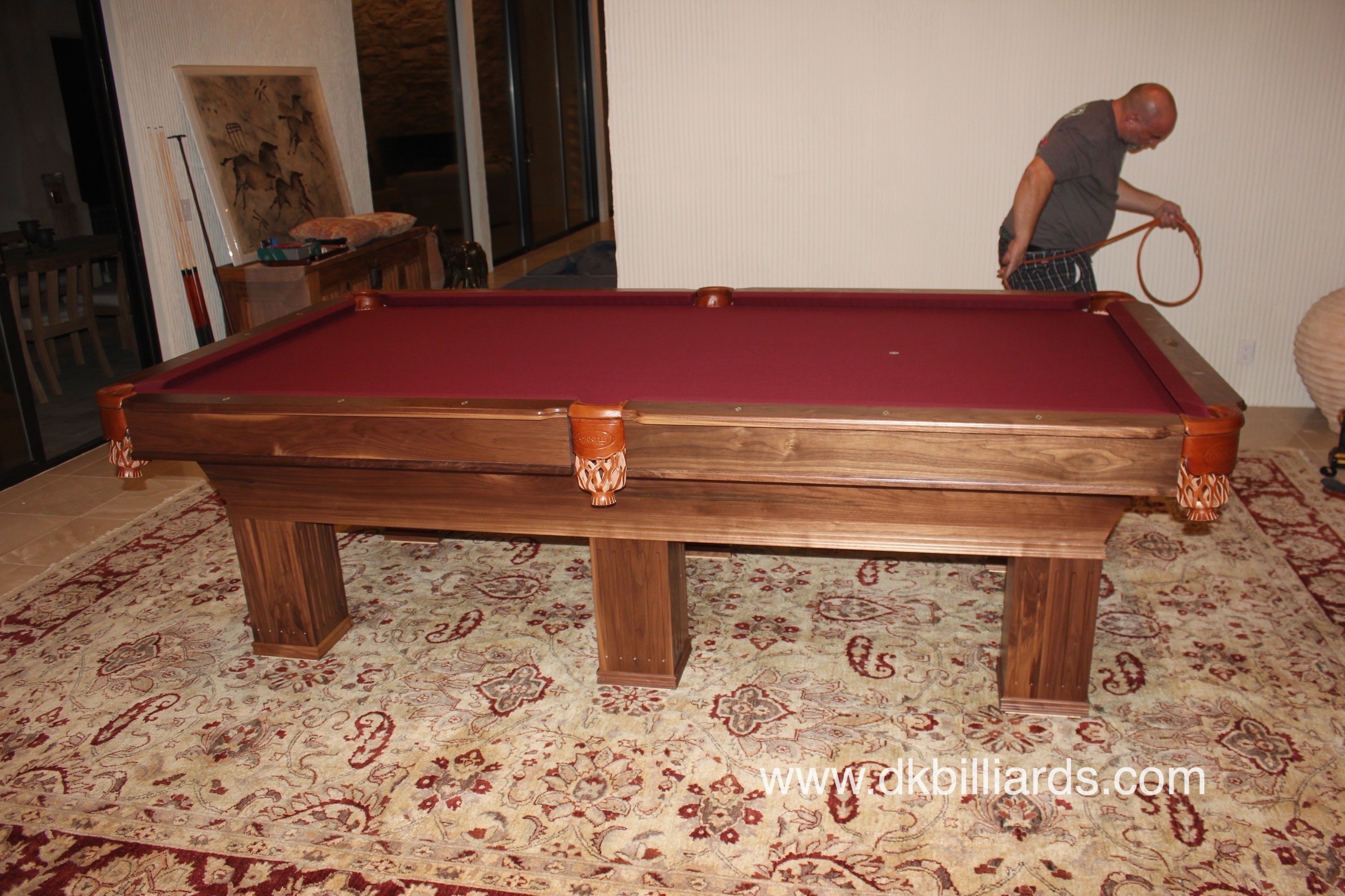 Connelly Ultimate Six Leg Pool Table Pool Table Service Billiard - Connelly ultimate pool table