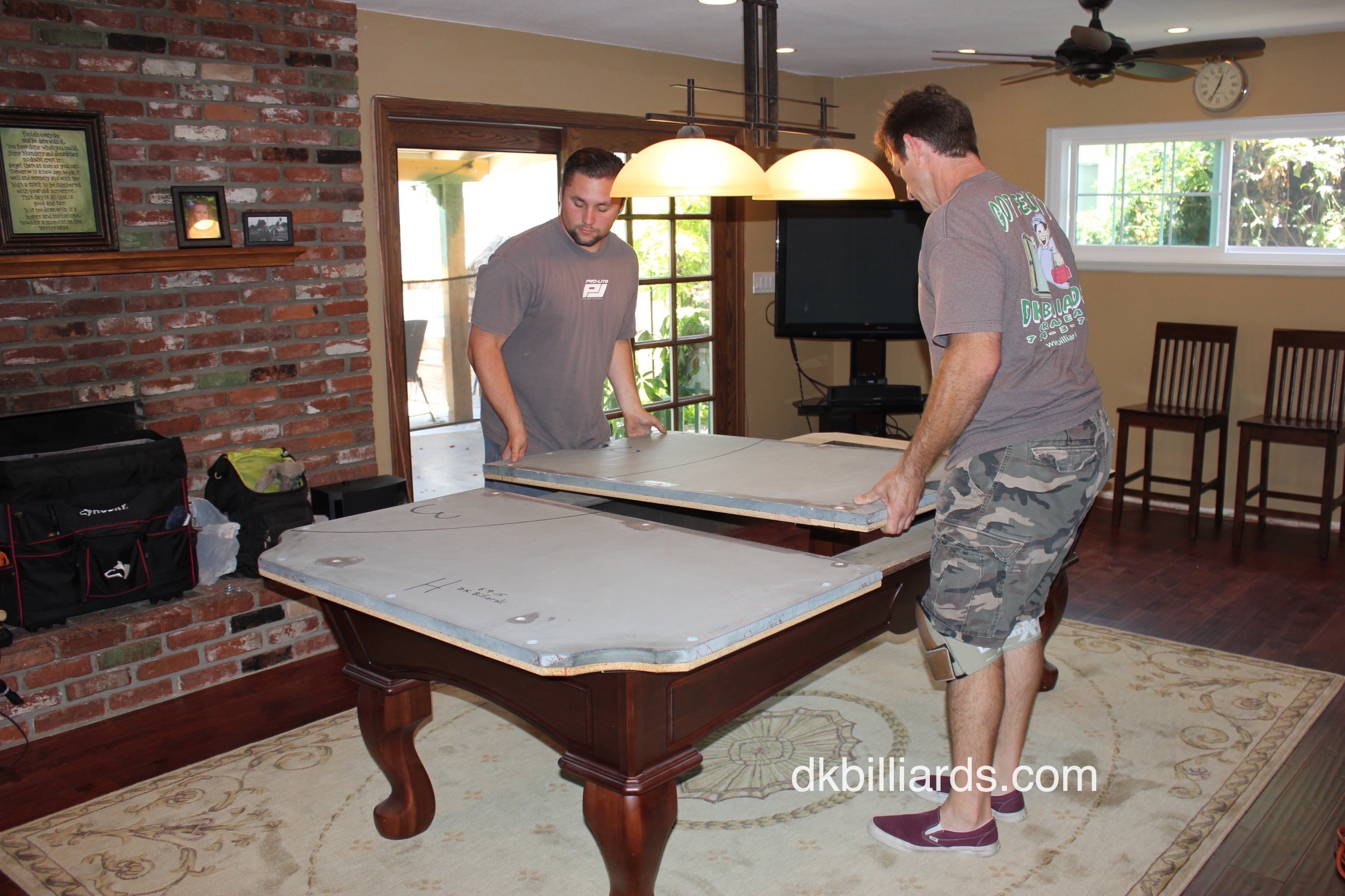 Moving Pool Table Slate Best Home Interior - How to move a pool table a few feet