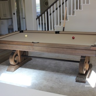 Davenport Delivery Pool Table Service Billiard Supply Orange - Restoration hardware pool table
