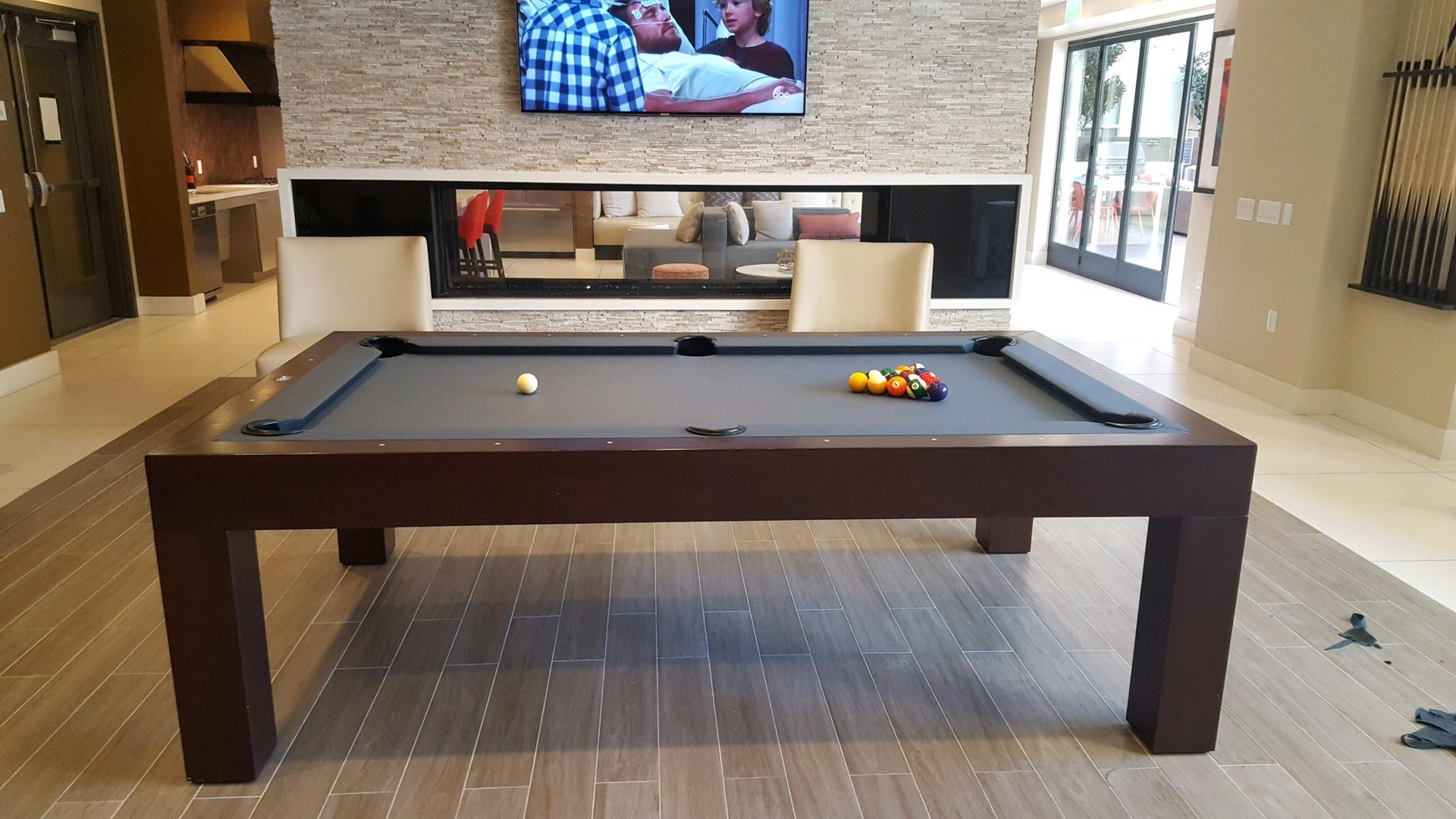 James Perse Style Gets New Simonis Pool Table Service Billiard - Pool table movers corona ca