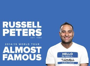 RUSSELL PETERS LIVE IN SA