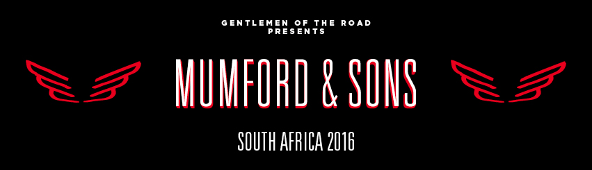 Mumford & Sons in South Africa in 2016!