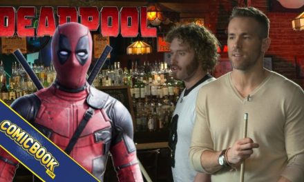 Deadpool Interview: Pool With Ryan Reynolds & TJ Miller At Sister