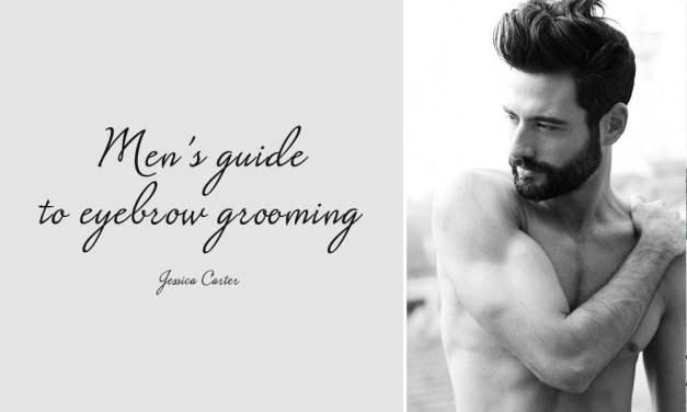 Men's guide to eyebrow grooming