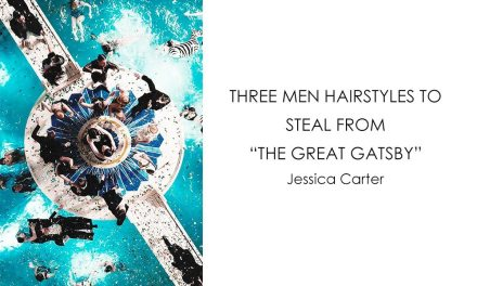 "Three men hairstyles to steal from ""The Great Gatsby"""
