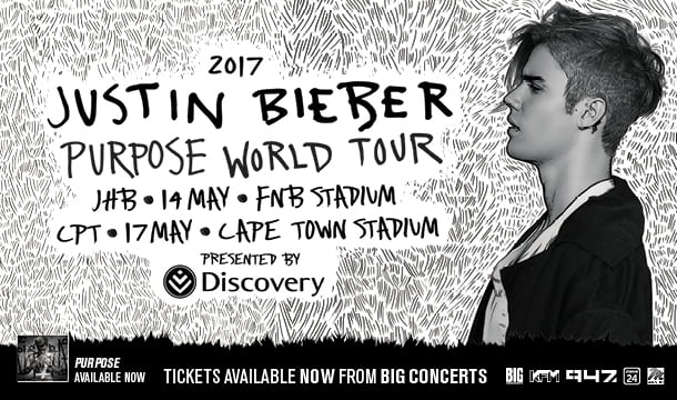 Justin Bieber – Ticket Announcement
