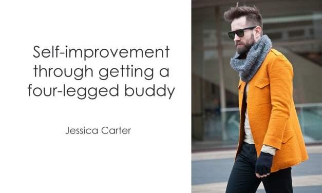 Self-improvement through getting a four-legged buddy