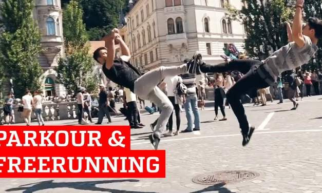 Incredible Parkour Freerunning | People Are Awesome 2018