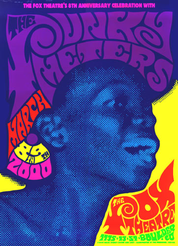 Firehouse The Funky Meters Poster
