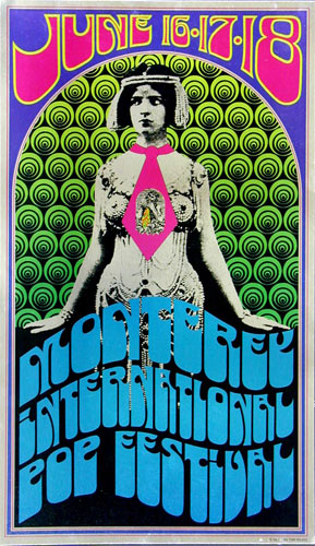 Monterey International Pop Festival Poster