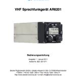 Bedienungsanleitung Funkgerät Becker AR 6201