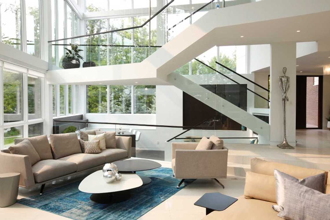 Modern House Design - Edge of Modernism - DKOR Interiors