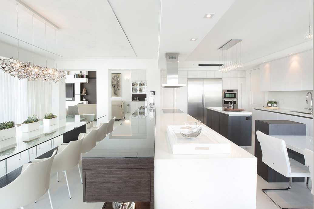 Waterfront Penthouse By DKOR Interiors Featured On