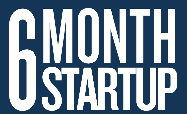 6 Month Startup Program for Founders