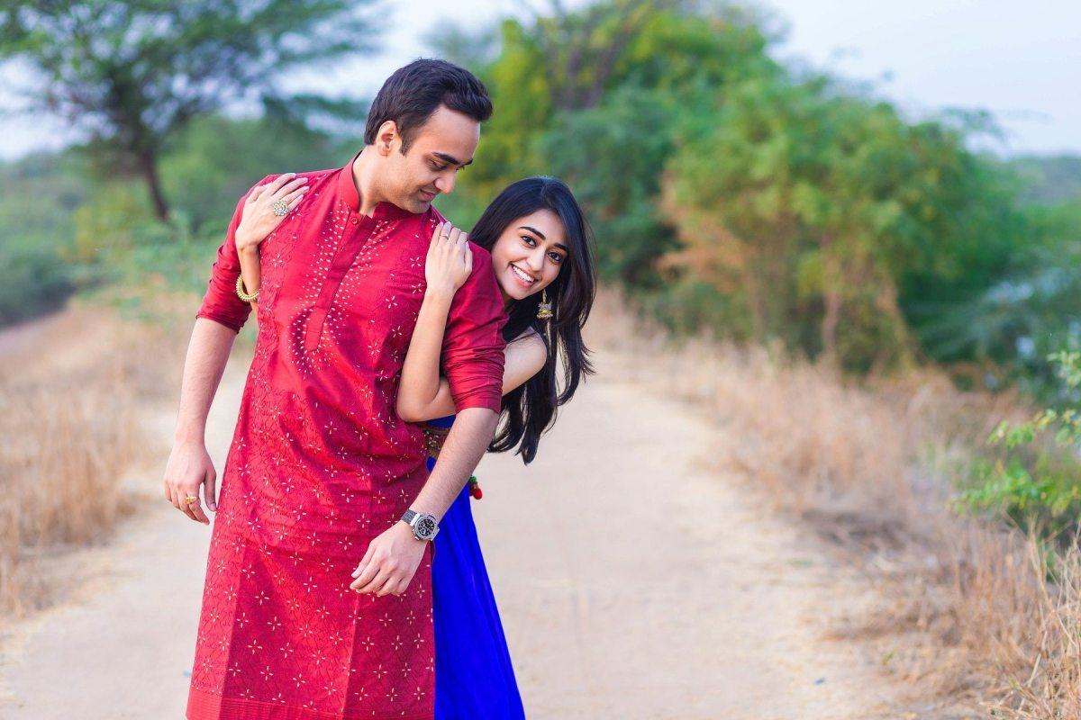 Jainit + Shaivi - Pre Wedding - Thol Lake Ahmedabad