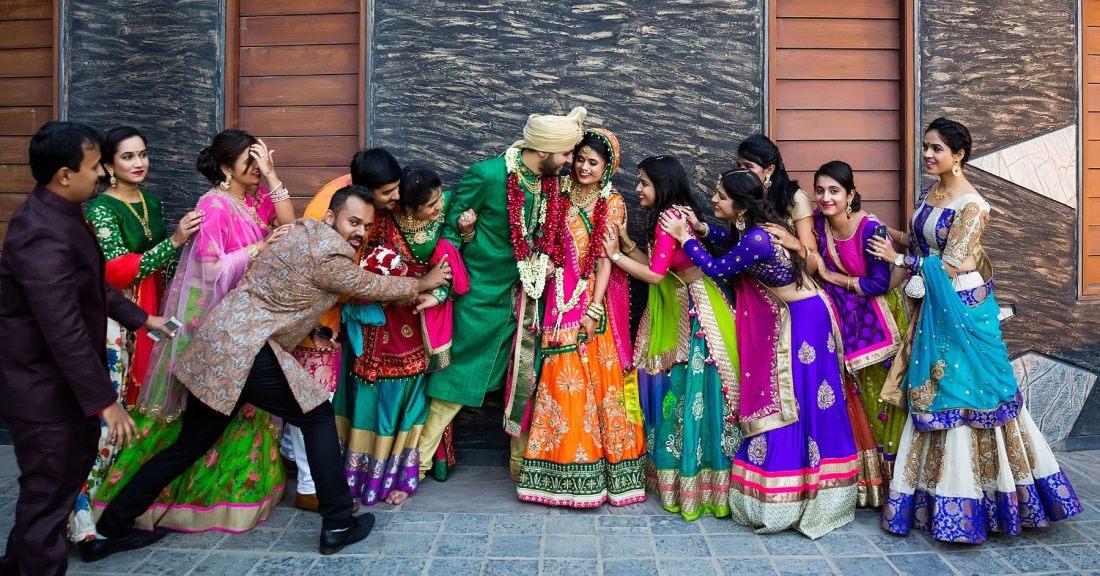 Extravagant Royal Gujarati Wedding Best Photos