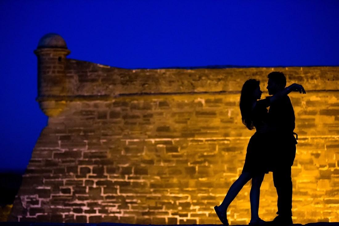 Lightner Museum St Augustine Engagement Photography