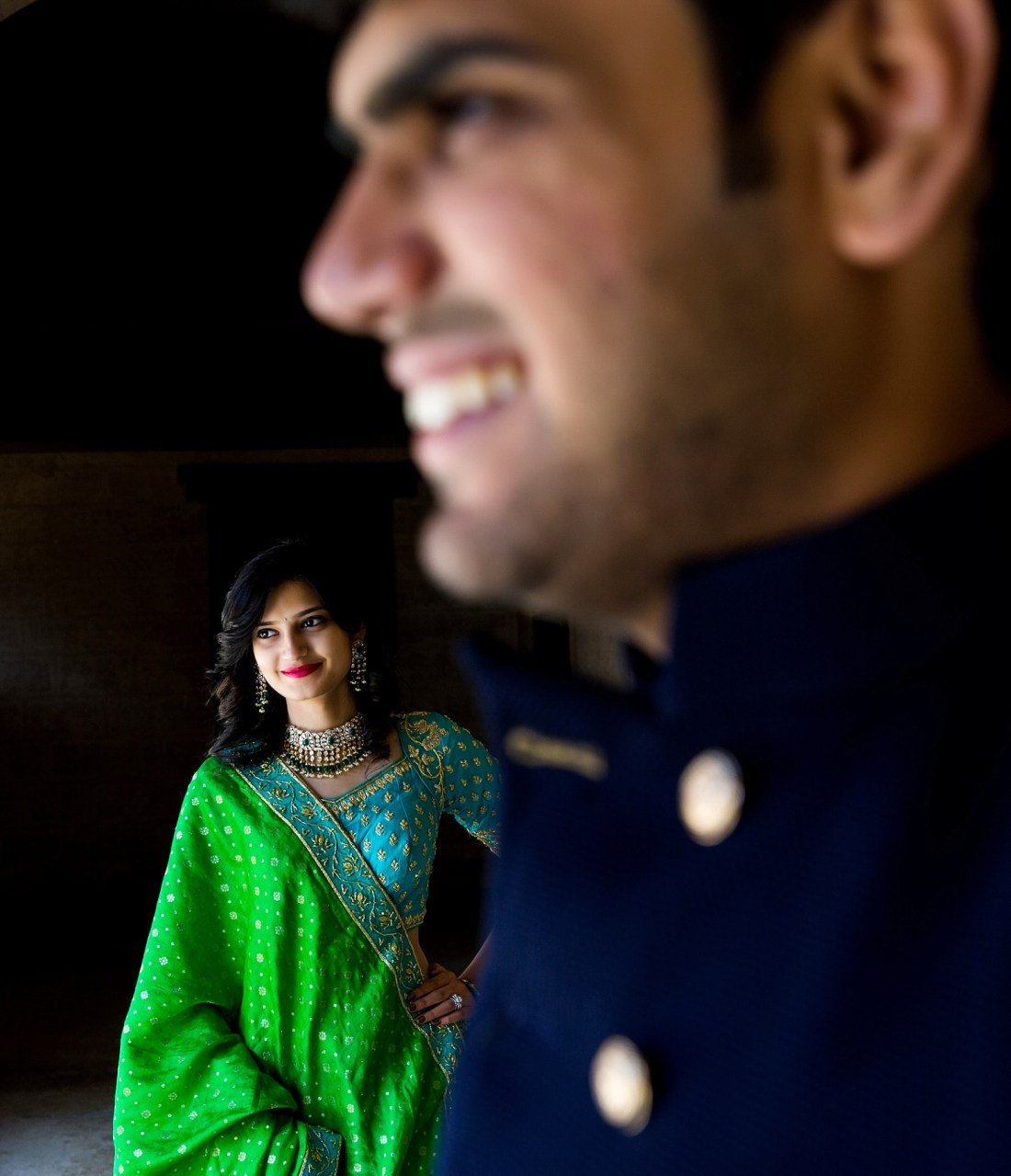 Jacksonville Indian Engagement Photography